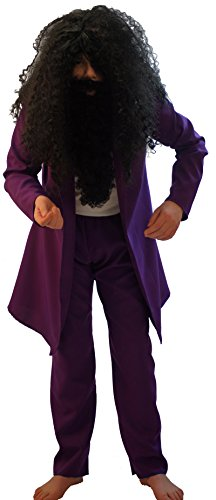 Twits Roald Dahl Costume (World Book Day- Roald Dahl- The Twits- MR TWIT COSTUME - All Children's Sizes (AGE 5-6))