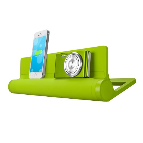 Quirky PCVG3-GN01 Converge Universal USB Docking Station, Green