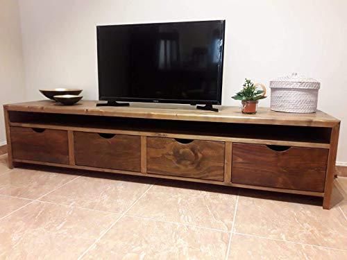 Mueble Salón de madera rustico: Amazon.es: Handmade