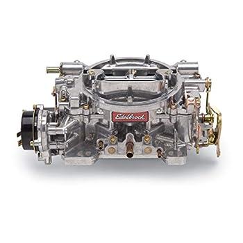 Image of Carburetors Edelbrock 1406 Performer 600 CFM Square Bore 4-Barrel Air Valve Secondary Electric Choke Carburetor