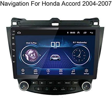 車GPSナビゲーション車両GPSナビゲーション車システムNavigation For Honda Accord 2004-2007 10.1インチタッチスクリーンマルチメディアサポートWIFI Blu