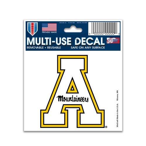 Wincraft NCAA Multi-Use Decal (3''x4'') (Appalachian White)