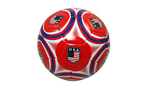 Team USA Soccer Authentic Official Licensed Soccer Ball Size 2 (Youth) -002 (Authentic Ball)