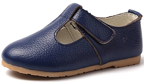 PPXID Girls Sweet Soft Leather Oxford Shoes
