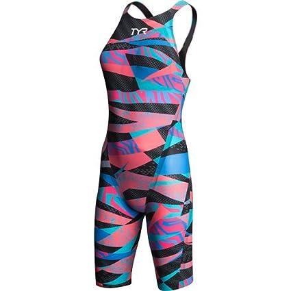 TYR Sport pour Femme Neon Solide de Retour