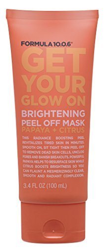Formula Ten O Six Get Your Glow On Peels, 3.4 Fluid Ounce by Formula Ten-O-Six