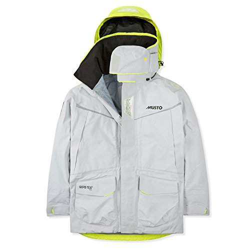 Musto MPX Gore-Tex Pro Offshore Sailing Jacket 2019 - Platin