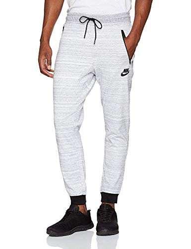 Jggr M Bianco Av15 Nsw Uomo KnitPantaloni nero Nike Mélange doCWQBerx