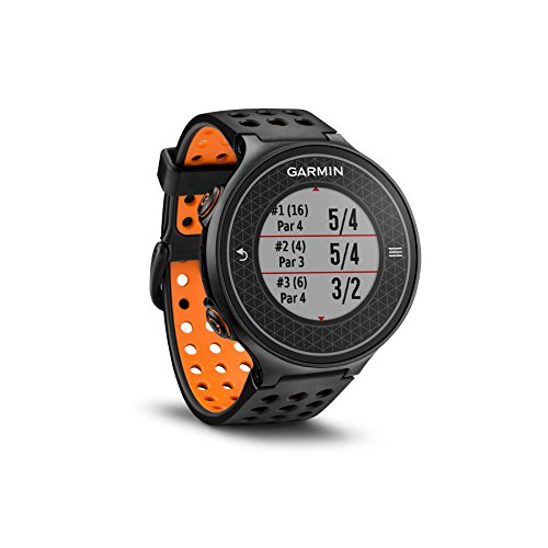 Garmin Approach S6 GPS Golf Watch (Orange/Black) by Garmin