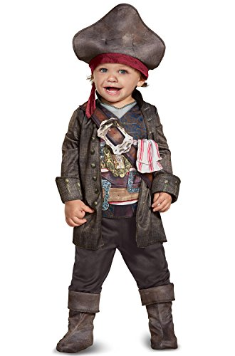 Disney POTC5 Captain Jack Sparrow Classic Infant Costume,  Multicolor,  12-18 Months (Captain Jack Sparrow Jacket)
