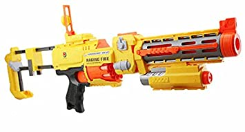 Electric Nerf Style Toy Gun With Laser Sight - Semi Automatic Soft Dart Gun