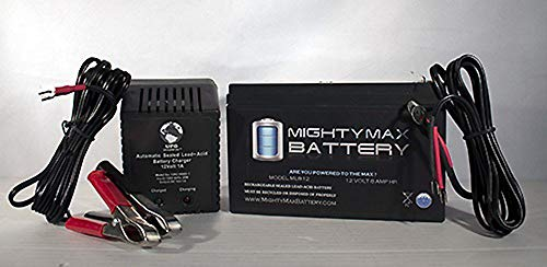 (Mighty Max Battery 12V 8AH Replaces Sea-doo SeaScooter STD + 12V 1Amp Charger brand)