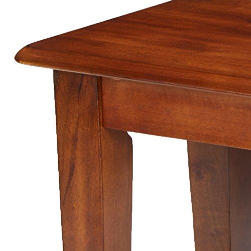 Ashley Furniture Signature Design - Berringer Dining Bench - Rectangular - Vintage Casual - Rustic Brown Finish by Signature Design by Ashley (Image #6)