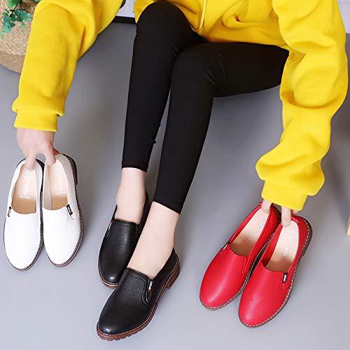39 couleur Shoes Eu Qiusa Noir Noir Taille a5Xwngx