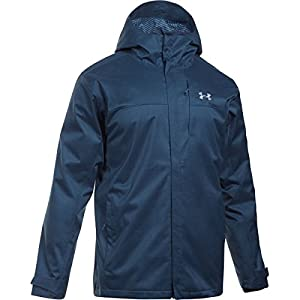 Under Armour Men's Porter 3-in-1 Jacket, True Ink/Midnight Navy, Large
