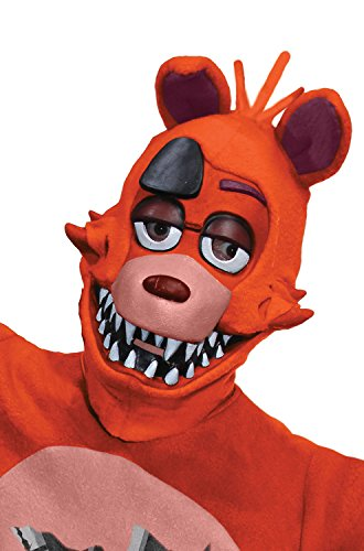 [Rubie's Costume Co. Men's Five Nights At Freddy's Foxy 3/4 Mask, As Shown, One Size] (Foxy Five Nights At Freddys Costume)