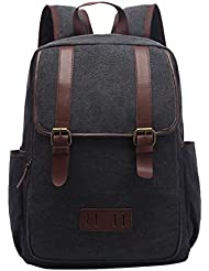 Stylish Cool Vintage Canvas College Teens Outdoor Backpack Daypack