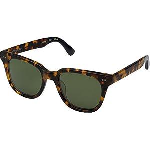 TOMS Unisex Memphis 201 Matte Havana/Honey Sunglasses