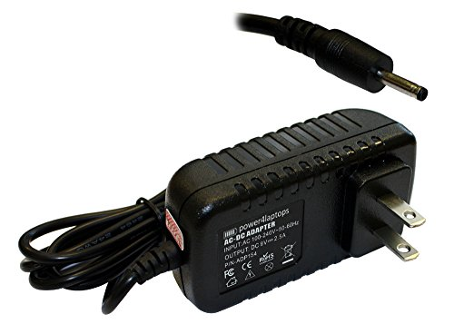 Power4Laptops AC Adapter Tablet Charger Power Supply (US Plug) for Disgo  8000, Odys X610003, Odys Xpress, PiPo M2