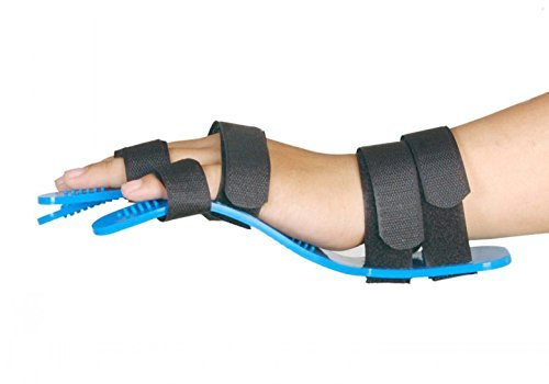 Medical Separate Fingers Orthosis For Adults Finger Hand Brace Board Hemiplegia Splint Extension Fixed Clamp Fracture Sprain Recovery Posture Correction Medical Spasm Extension