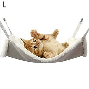popchilli Gato Hamaca, Cama Colgante Cama Suave Para Mascotas Para ...