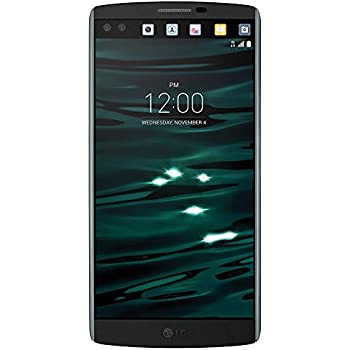 LG V10 H900 64GB Unlocked GSM Hexa-Core Android Smartphone w/ 16MP Camera - Space Black (Certified Refurbished)