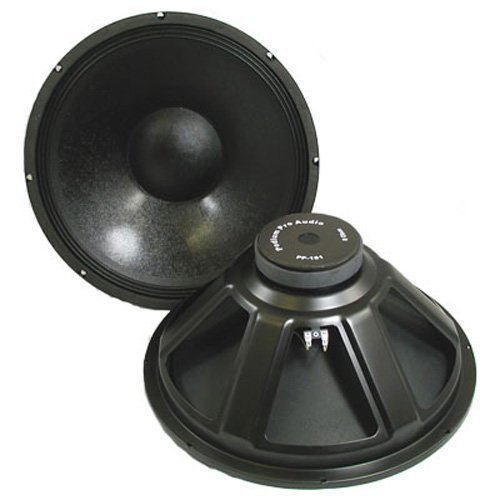 Podium Pro PP181 18-Inch Subwoofer Pair Pro Audio DJ PA Karaoke Band Replacement by Podium Pro