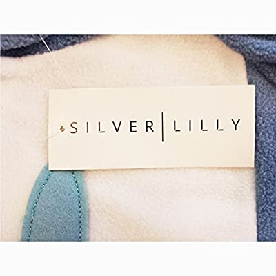 Silver Lilly Unisex Adult Pajamas - Plush One Piece Cosplay Owl Animal Costume