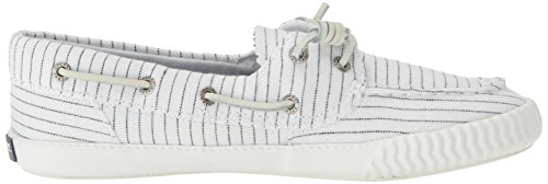 Sperry Top-sider Donna Sayel Via Gessata Sneaker Bianco / Nero