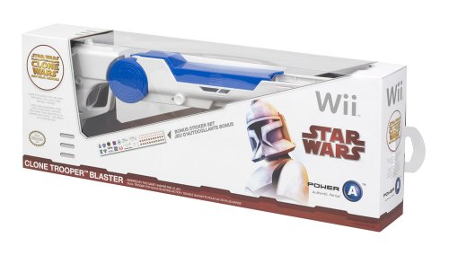 Official Nintendo and Star Wars Wii Clone Trooper - Wii Star Official Wars