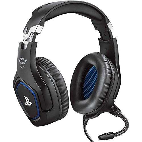 Trust Gaming GXT 488 Forze [Officially Licensed for PlayStation] Gaming Headset for PS4 and PS5 with Flexible Microphone…
