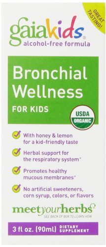 Gaia Herbs GaiaKids Bronchial Wellness product image