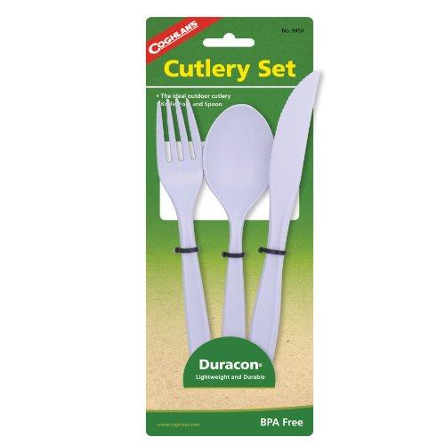 Flatware Polycarbonate - Coghlan's Lexan Cutlery Set