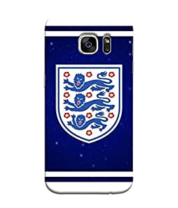 ColorKing Football England 20 Multi Color shell case cover for Samsung S7 Edge