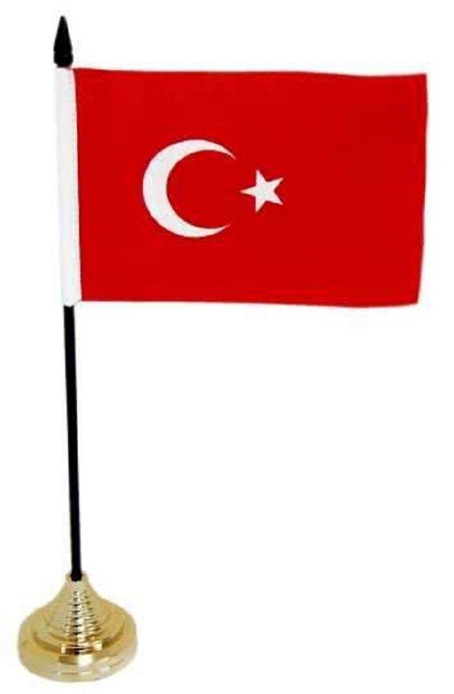 9:PM Tavolo bandiera Turchia unbekannt