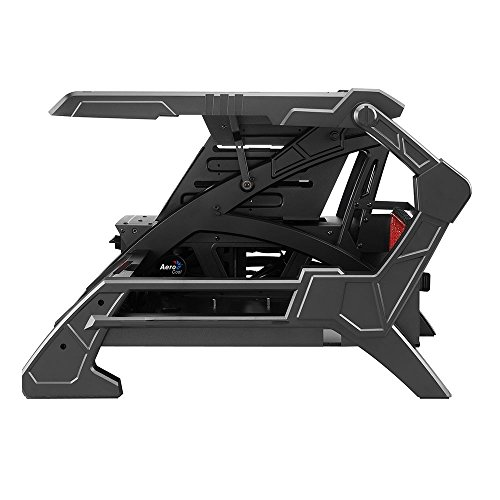 Aerocool Open Frame Design Pc Cases Strikex Air Black Red