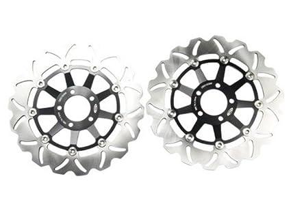 Amazon 1 Pair Motorcycle Brake Disc Rotor Fit For KAWASAKI ZRX