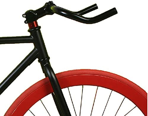New Road Bike Bicycle Bullhorn Handlebar Bend Bar 25.4*370mm Aluminum Alloy