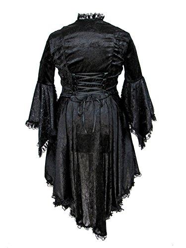 Eternal Love Plus Size Black Gothic Gwendolyn Dress Taffeta Lace (2X) by Eternal Love (Image #3)