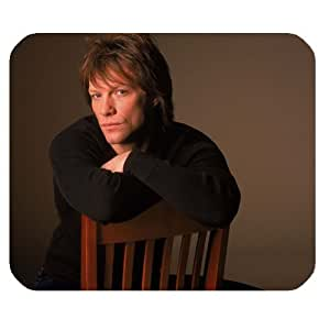 Custom Jon Bon Jovi Mouse Pad Gaming Rectangle Mousepad CM-329