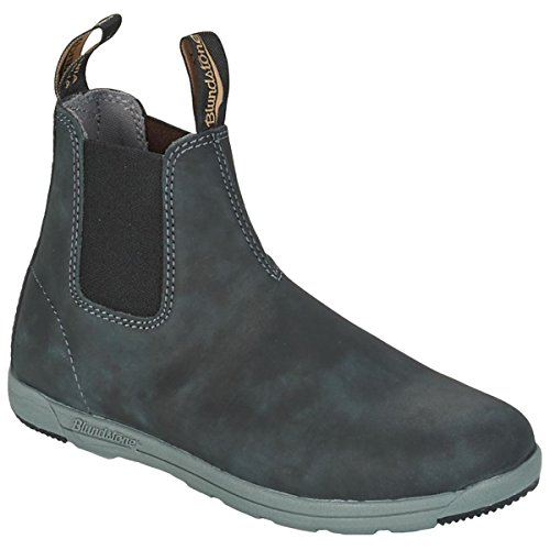 Blundstone Mens 1428 Leather Boots Rustic Black