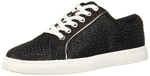 Jewel Badgley Mischka Women's RYAN Shoe, Black Fabric, 6.5 M US