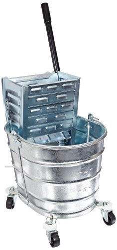Crash 2000/260 Metal Squeeze Wringer Combo Bucket, 26 qt Capacity