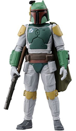Takaratomy Star Wars Metal Collection Mini #07 Boba Fett Action Figure (Boba Fett)