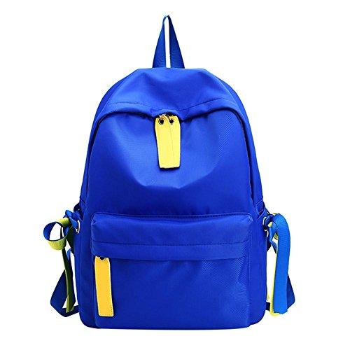 Fitting Shoulder Adjustable Strap Backpack Lightweight Casual Prosperveil Universal Blue 6nUqwatAp
