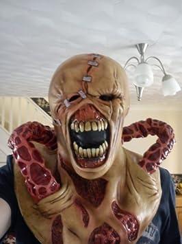 Nemesis Deluxe masque de latex resident evil 3 Zombie Déguisement Halloween Cosplay