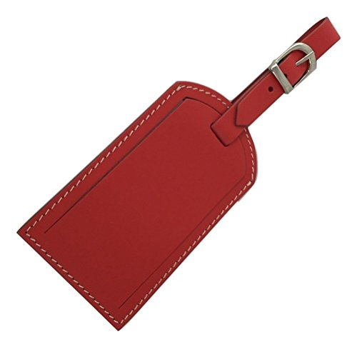 Italian Patent Leather Luggage Tag - Patent Tag Luggage