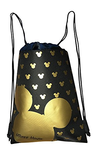 Disney Mickey Mouse Drawstring Backpack Bag -