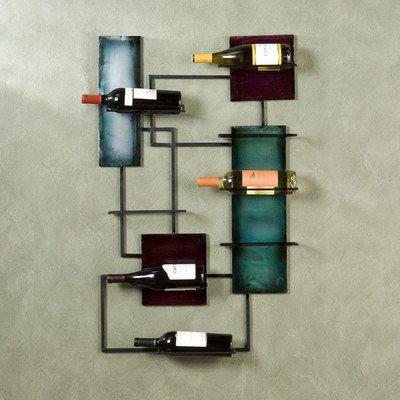 Ravenel Wine Storage Wall Sculpture by Southern Enterprises