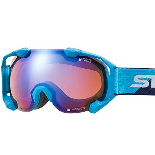 【국산 브랜드】SWANS(스완스) 스키 스노우 보드 고글 습기 방지 프리미엄 안티 포그 탑재 미러 발수